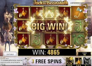 Jack and the Beanstalk online slot review