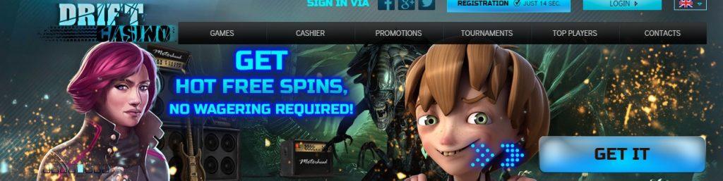 drift casino рейтинг обзор