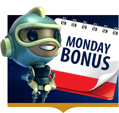 LimoPlay casino Reload Bonus every Monday